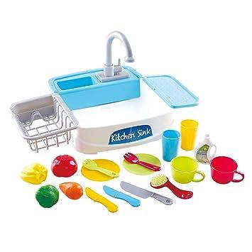 PlayGo - Fregadero eléctrico con accesorios (46415): Amazon.es ...