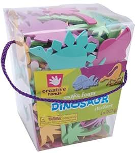 Foam Stickers 5-Ounce, Dinosaur