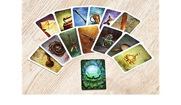 Mysterium, New Big Ukrainian Board Game, English Rules, (Dixit+ ...