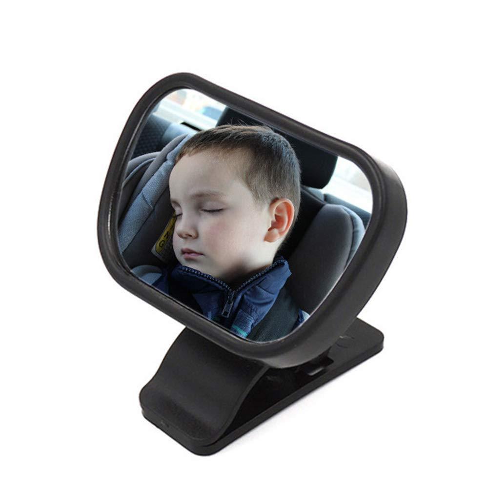 B/éb/é Si/ège de s/écurit/é /à 360 degr/és vue r/étroviseur rotation miroir b/éb/é dobservation b/éb/é voiture r/étroviseur enfant voiture miroir auxiliaire arri/ère