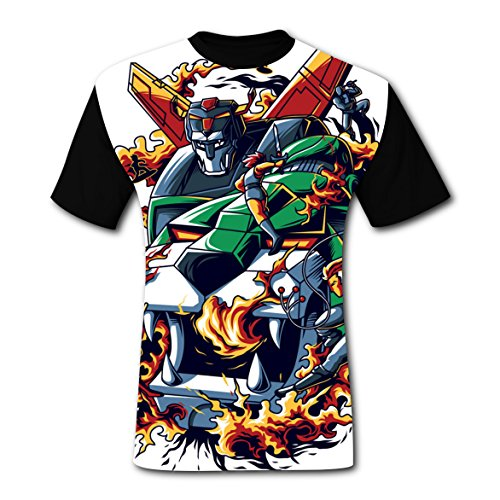 (Deborahbe Thunder Cats Men's T-Shirt Short Sleeve Cool Tee Shirt Sports Tshirt for Men XXL)