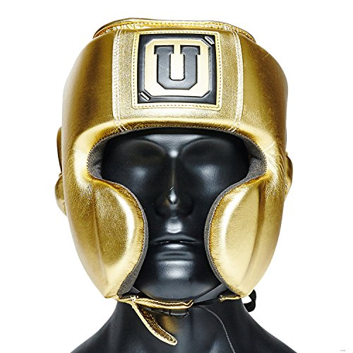 Ultimatum Boxing Gen3Mex Gold Professional Mexican Style Headgear