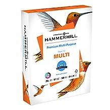 Hammermill Paper, Premium Multi Purpose,8.5 x 11-Inch, White, 500 Sheets / Ream (105910)