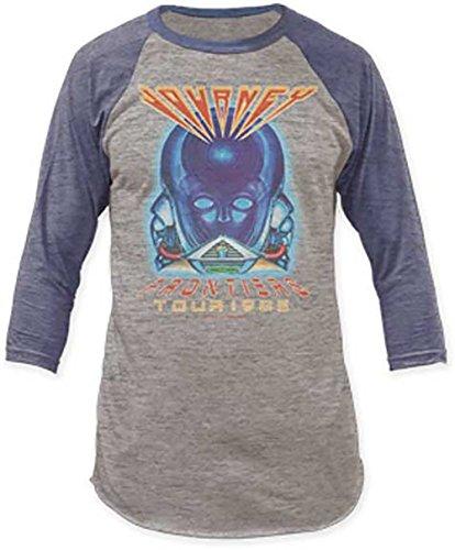 Journey Frontiers Tour 1983 Men's Baseball Jersey Raglan Longsleeve T-Shirt (L) -