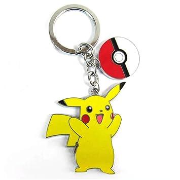 Pikachu con llavero, diseño de Pokeball: Amazon.es: Juguetes ...
