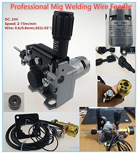 Professional 24V Wire Feed Assembly 0.6-0.8mm/.023-.03