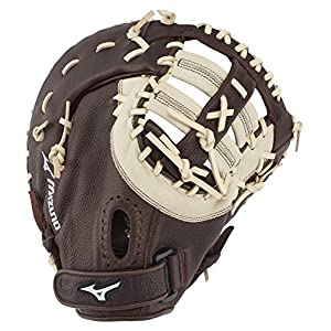Mizuno GXF90B3-RG Franchise Series Baseball First Base Mitts, 12.5″, glove fits into the Left Hand
