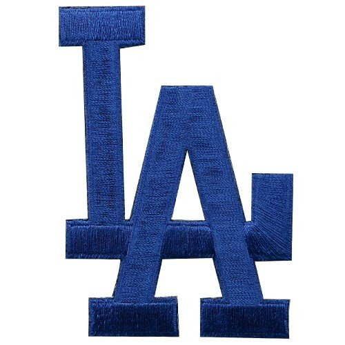 MLB L.A. Dodgers Embroidered Team Logo Collectible Patch