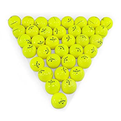 Callaway Supersoft Yellow 36 Pack Golf Balls Mint Condition ()