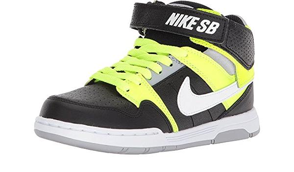 Amazon.com | Nike Boy's SB, Mogan Mid 2 Jr GS Sneaker - Big Kid ...