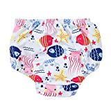 Sociala Non Disposable Swim Diaper Toddler Girl