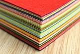 Life Glow DIY Polyester Stiff Felt Fabric Squares