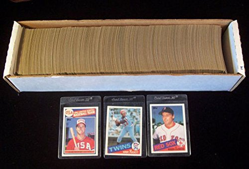 (1985 Topps Baseball Set (792) Nm/Mt Roger Clemens Kirby Puckett Mark McGwire RCs)