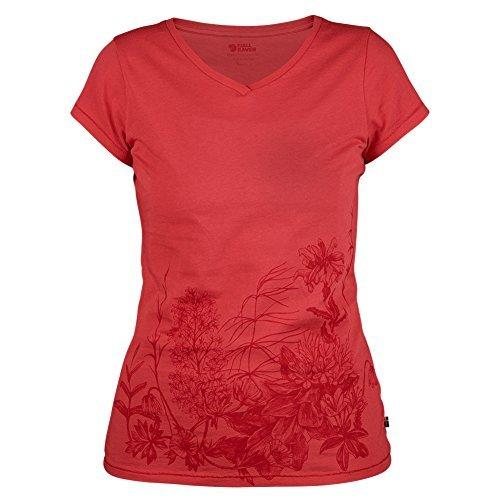 Fjällräven Meadow-Camiseta para mujer rotorange