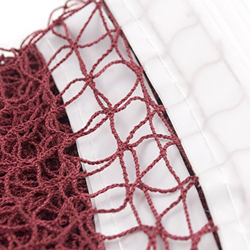 GOGO Durable Badminton Net 6.1 M x 0.76 M Professional Training Square Mesh Net Official Match Favor