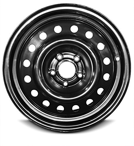 Ford Replacement Rims -   Road Ready Car Wheel For 2000-2007 Ford Taurus 2000-2005 Mercury Sable 2000-2003 Ford Windstar 16 Inch 5Lug Black Steel Rim Fits R16 Tire - Exact OEM Replacement - Full-Size Spare