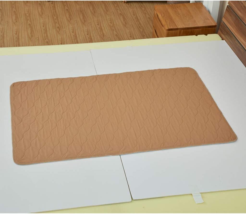 CUTICATE Bettschutzeinlage 80 x 120 cm wasserdicht Kinderbett Babybett Unterlage Betteinlage Blau
