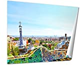 Ashley Giclee Barcelona Spain July 25 The Famous Park Guell On July 25 20, 20x25 Print