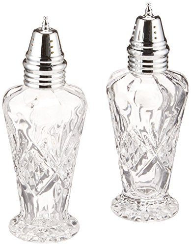 (Godinger Crystal Dublin Salt and Pepper Set)