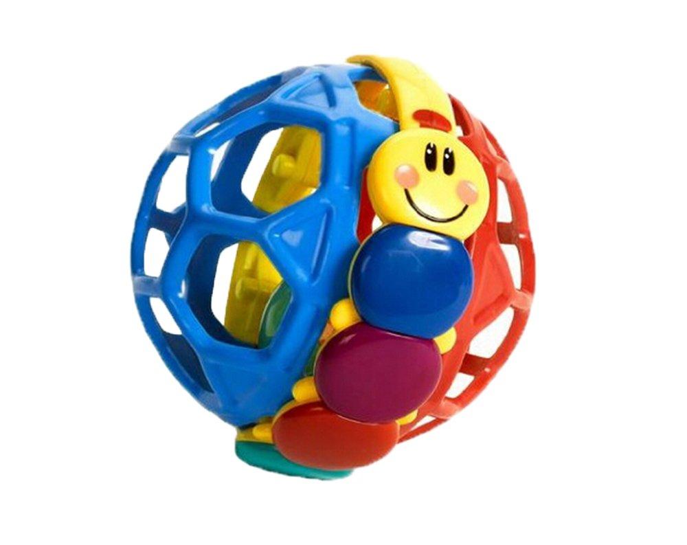 niceEshop(TM) Funny Bendy Ball Baby Walker Music Bell Infant Educational Toys (Random Color)