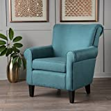 Cheap Christopher Knight Home 300163 Mina-Ch. Arm Chair, Dark Teal