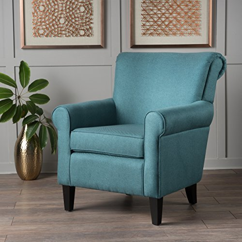 Christopher Knight Home 300163 Mina-Ch. Arm Chair, Dark Teal