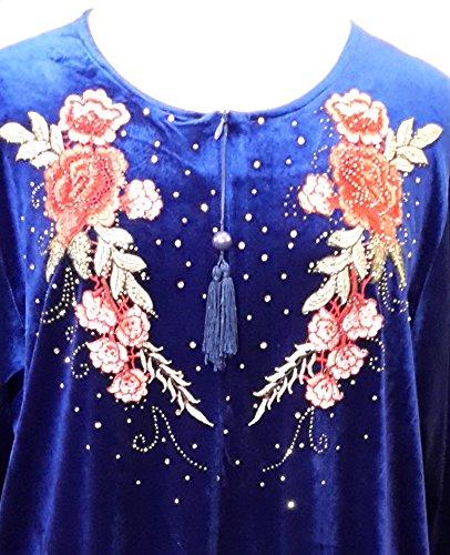 Fionalissa - Robe - Manches Longues - Femme Bleu Bleu marine