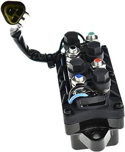 Yamaha 61A-81950-00-00 Relay Assembly; New # 61A-81950-01-00 Made by Yamaha