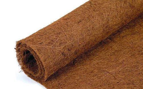 5 metres long x 75cm wide Co-co fibre - Coconut Coir liner roll