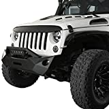 Hooke Road Black Front Grille Cover Trim Angry Bird Grill Overlay for 2007-2018 Jeep Wrangler JK & JKU Unlimited Sahara Rubicon