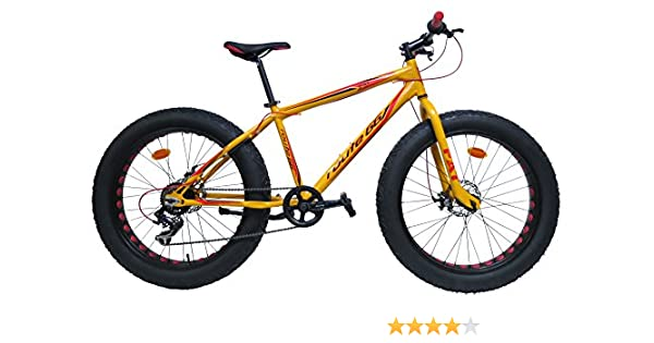 Bicicleta Route 66 Fat Bike de Aluminio: Amazon.es: Deportes y aire libre