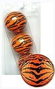GBM Golf Animal Novelty 3 Ball Sleeve, Tiger