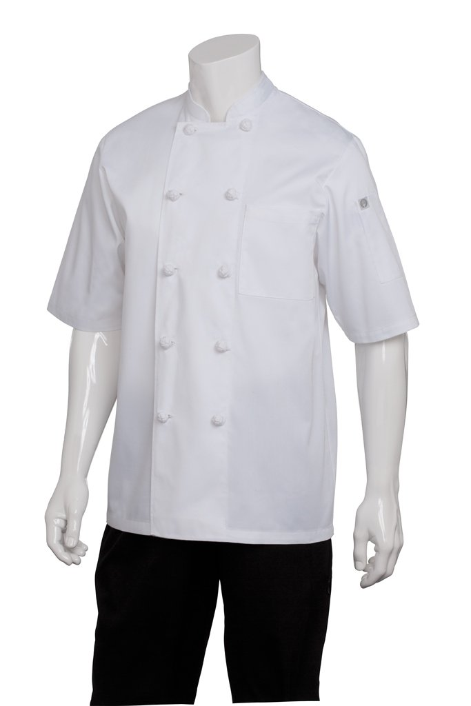 Chef Works Men's Tivoli Chef Coat (KNSS)