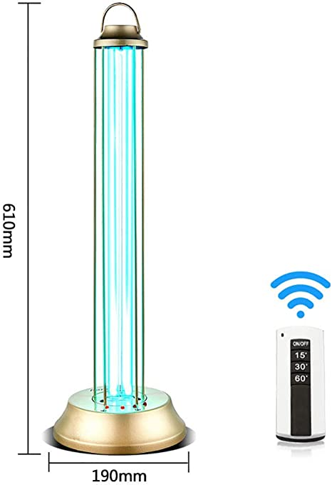 AG Esterilizador de luz UV para el hogar, lámpara de desinfección ...