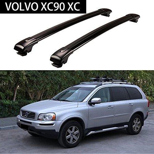 Aluminium Roof Racks Crossbar Baggage Luggage Racks for VOLVO XC90 XC 2003-2014 - (Volvo Cross)