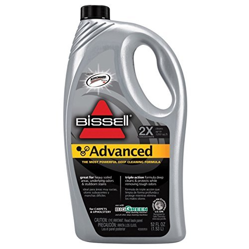 Polisher Hoover (Bissell - Best 52-ounce Advanced Formula Home Carpet Cleaner Solution)