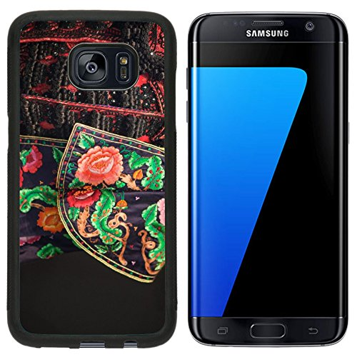 Liili Samsung Galaxy S7 Edge Aluminum Backplate Bumper Snap Case Detail of a traje de luces the costum of a torero Spain 29493579