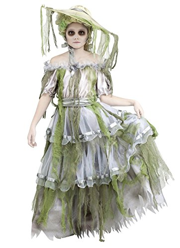 Child Zombie Southern Costume Medium
