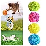Viet's VT Magic Rolling Ball for Dogs Microfiber Mop Ball Mini...