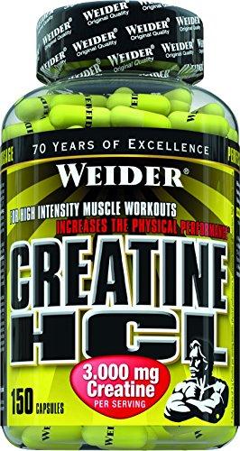 Weider Creatine HCL 150 Kapseln, 1er Pack (1 x 216 g)
