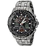 Citizen Men's JY0010-50E Eco-Drive Skyhawk At Titanium Black Dial Watch