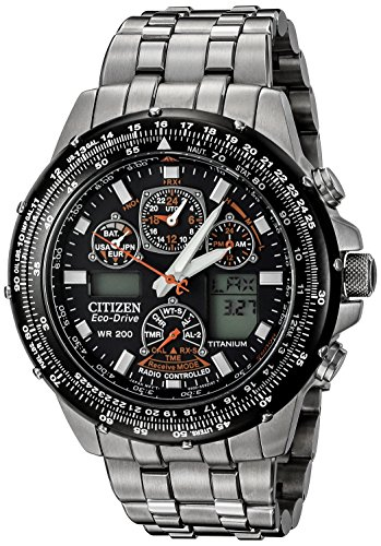Citizen Men's JY0010-50E Eco-Drive Skyhawk A-T Titanium Watch