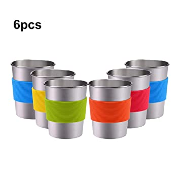 Amazon.com: Vaso de acero inoxidable 304 apto para uso ...