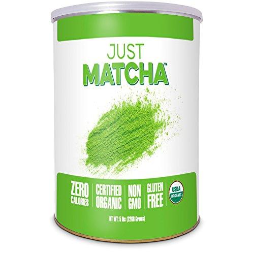 JUST MATCHA Matcha Green Tea Powder - 5 LBS - USDA Organic Culinary Grade (5 lbs) by Just Matcha