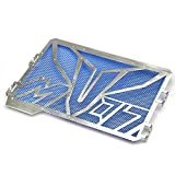 BEESCLOVER Fashion Stainless Steel Motorcycle Radiator Grille Guard for Yamaha Radiator Grille Guard Blue