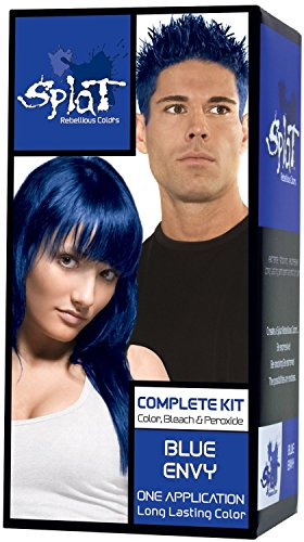 Splat Rebellious Colors Complete Hair Color Kit Blue Envy (Pack of 2)