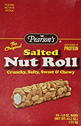 Pearson\'s Salted Nut Roll, 1.8 Oz Bars - 24 Pack