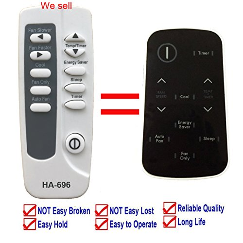 Replacement for Kenmore Air Conditioner Remote Control 5304476311 for Model 253.71124 253.71124010 253.71124011 253.71124012 253.71124013 253.79184 253.79184010 253.79184011 253.79184012 253.79184013 by YING RAY