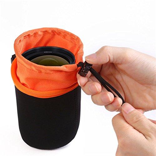 souple Néoprène de épaissir lentille sac protection la de sac caméra Étanche de de DSLR Sac de cordon sac poche verrouillage caméra la lentille TBTq7r