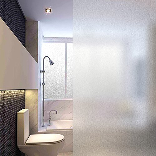 MVPower Window Film Non Adhesive Frosted Privacy Window Film Self Static Cling for Home Kitchen Office Bathroom,35.5''x 78.7'' by MVPower (Image #9)